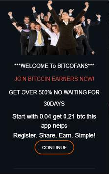 Genuine Bitcoin Earning System poster