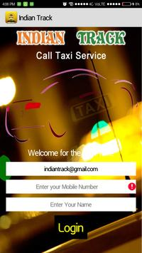 Indian Track CallTaxi poster