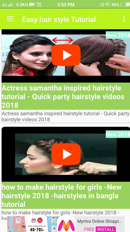 Girls Hair Style Video 2018 For Android Apk Download