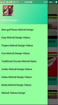 Mehndi Videos Design - Mehndi Design poster