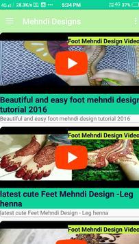 Mehndi Videos Design - Mehndi Design screenshot 4
