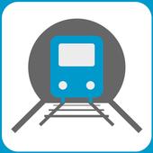 Indian Rail Train Info icon