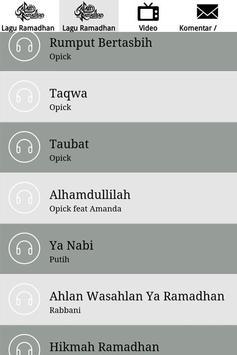Lagu Ramadhan 2017 screenshot 3