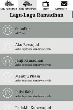 Lagu Ramadhan 2017 screenshot 14
