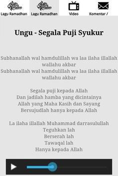 Lagu Ramadhan 2017 screenshot 4