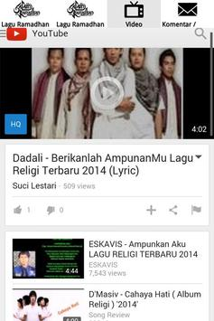 Lagu Ramadhan 2017 screenshot 5