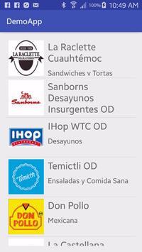 Demo App apk screenshot