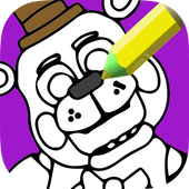 Dibujo Para Colorear Indie Freddy Bear For Android Apk