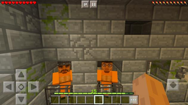 Escape from roblox prison life map for MCPE screenshot 14