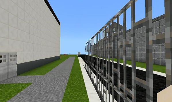 Escape from roblox prison life map for MCPE screenshot 1