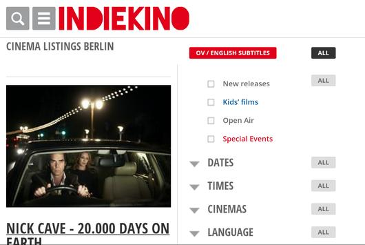 Indiekino Berlin apk screenshot