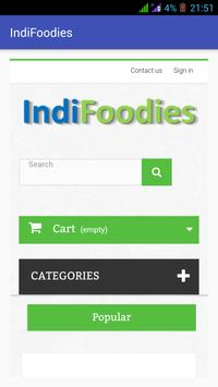 Indifoodies poster