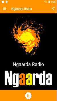 Ngaarda Radio poster