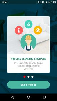 Houzkare - On demand home care poster