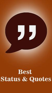 Best Status & Quotes to Share poster
