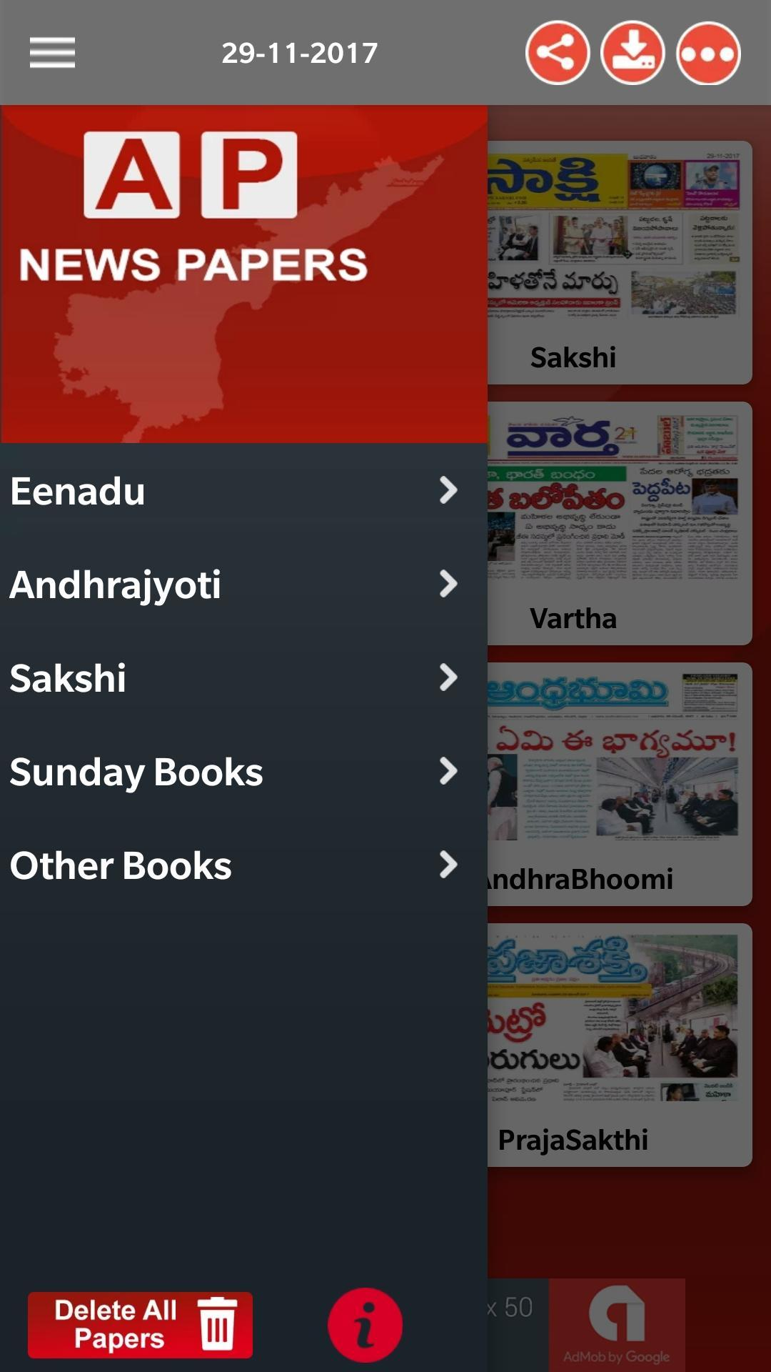 AP Telugu News Papers 2019 for Android - APK Download