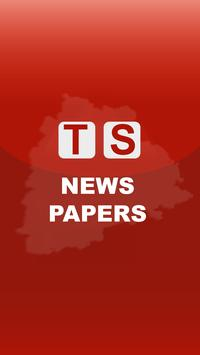 TS Telugu News Papers 2019 poster