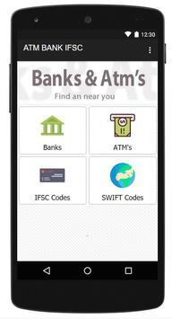 IFSC Codes & ATM  Finder 2017 poster