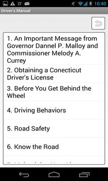 Indiana Driver's Manual poster
