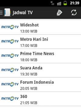 Jadwal TV & Event screenshot 2