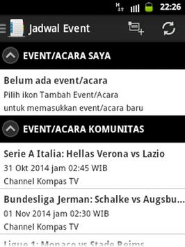 Jadwal TV & Event screenshot 4