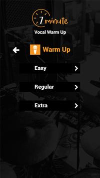 7 Minute Vocal Warm Up apk screenshot