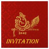 Indrani Manish Wedding invitation icon