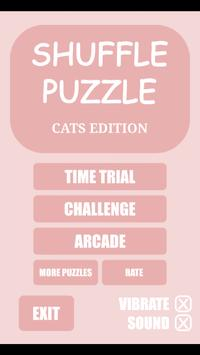 Shuffle Puzzle - Cats poster