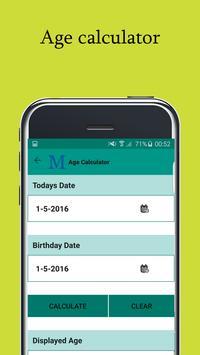 Daily Calculator Tool apk screenshot