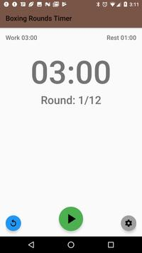 Free Boxing Rounds Timer poster