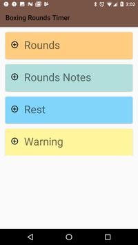 Free Boxing Rounds Timer screenshot 1