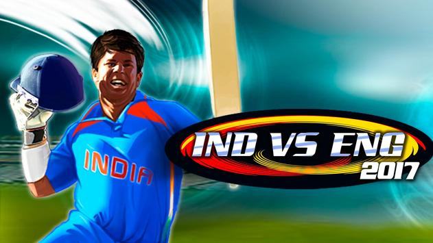 India vs England Game 2017 poster