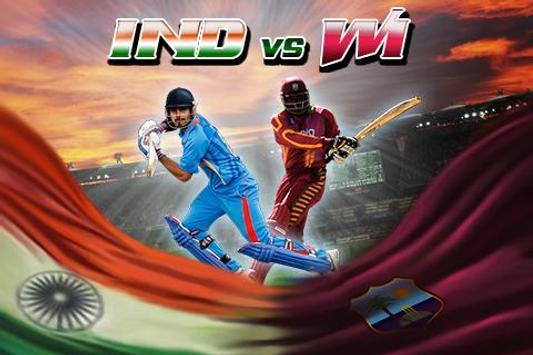 India Vs West Indies 2017 Tab poster