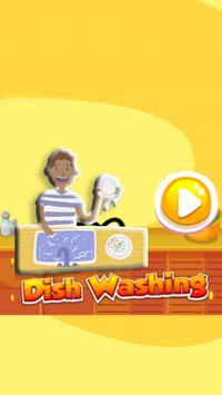 Dish Washing Game for Kids poster