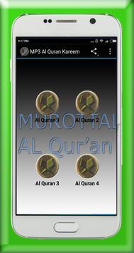 MP3 Al Quran Kareem poster