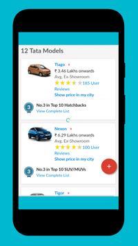 Tata Cars App - Cars, Price, Info (Unofficial) screenshot 2