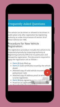 How to find RTO vehicle owner detail - Car, Bike screenshot 4
