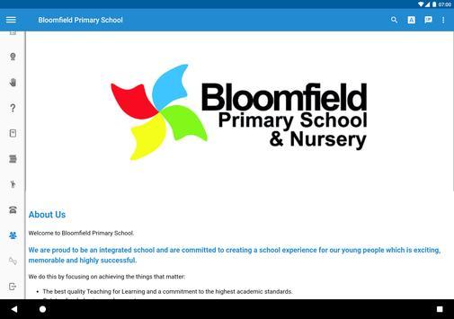 Bloomfield Primary School screenshot 9