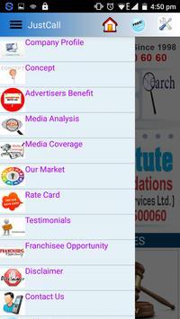JustCall Infotel apk screenshot