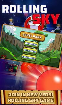 Rolling Run Ball Touch Sky screenshot 7