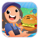 Burger Cooking Of Fever icon