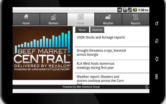 Beef Market Central for Tablet apk screenshot