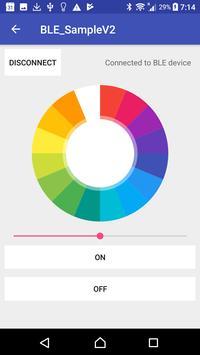 Leg Lamp BLE App apk screenshot