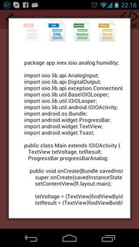 IOIO Example apk screenshot