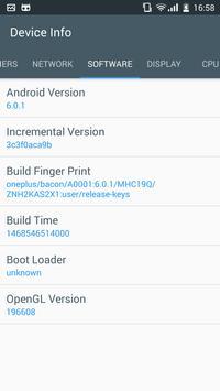 Device Info screenshot 3