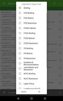 King County Legislation List screenshot 9