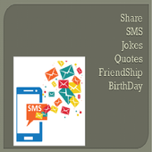 Share SMS (Quotes,Jokes,Greetings) icon