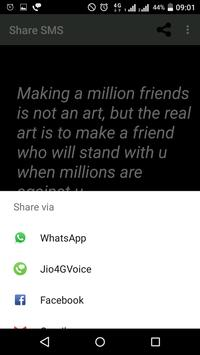 Share SMS (Quotes,Jokes,Greetings) screenshot 7