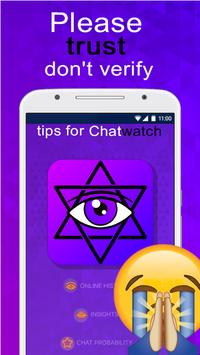 chatwatch app guide - tuto poster