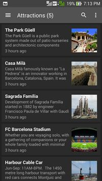 Info Barcelona screenshot 2